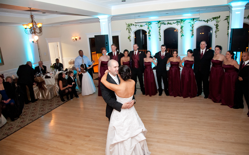 First Dance at Testa's Wedding Reception